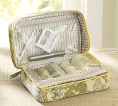Pottery Barn travel- cosmetics bag