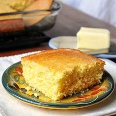 Perfectly moist cornbread (my new go-to cornbread recipe)