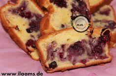 ilaams Koch und Backrezepte. Schritt für Schritt: Heidelbeer-Frischkäse Kuchen