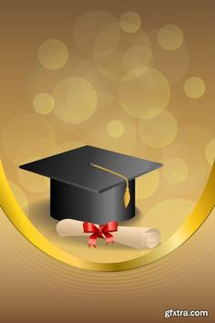 Graduation cap with diploma and golden abstract background 04 graduation golden diploma cap background abstract Graduation Clip Art, Graduation Templates, Graduation Photos, Graduation Invitations, Graduation Cards, Education Degree, Gold Ribbons, Abstract Backgrounds, Photoshop