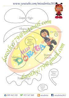 Miss Dorita: Niña Mariquita Buzzy Bee, Bug Crafts, Paper Punch, Paper Piecing, Ladybug, Pokemon, Creative, Lema, Crafting