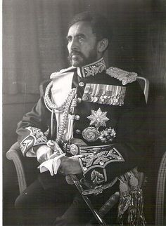 His Imperial Majesty Haile Selassie I, King of Kings of Ethiopia