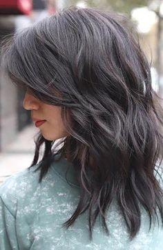 Medium Long Haircuts, Medium Hair Cuts, Long Hair Cuts, Medium Hair Styles, Long Hair Styles, Medium Length Hair Cuts With Layers, Short Hair, Women Hair Cuts, Haircut For Thick Hair