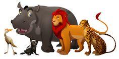 The Lion Guard - Adult TLK style by albinoraven666fanart.deviantart.com on @DeviantArt