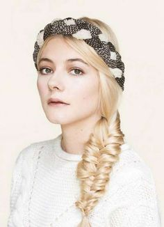 2015 Hairstyles, Headband Hairstyles, Hair Accessories, Crown, Hair Styles, Women, Fashion, Hair Plait Styles, Moda