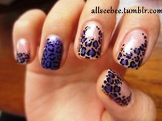 How cute!  Loving the different styles on each nail.