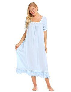 890bdacd38f9 Summer Dresses, Nightgown, Fashion, Cold Shoulder Dress, Summer Sundresses,  Sleep Dress, Moda, Night Gown, Fasion