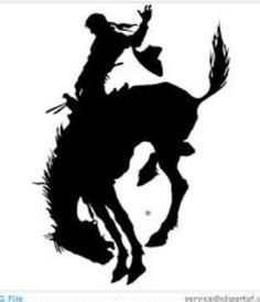 Bull riding drawings bull riding pencil drawing by for Cowboy silhouette tattoo