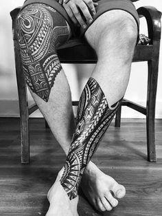 30 Coolest Tribal Tattoos For Men Maori Tattoos, Polynesian Tattoo Sleeve, Polynesian Tattoos Women, Irezumi Tattoos, Samoan Tattoo, Body Art Tattoos, Geometric Tattoos Men, Tribal Tattoos For Men, Tribal Tattoo Designs