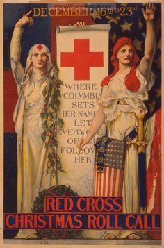 Examples of Propaganda from WW1 | WW1 Red Cross Posters Page 25