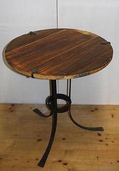 Tisch aus Altholz Tisch aus Antikholz Schmiedeeisen