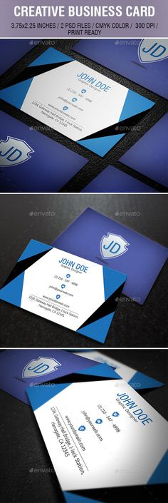 #Corporate Business Card_058 - Creative #Business #Cards Download here: https://graphicriver.net/item/corporate-business-card_058/10304847?ref=alena994