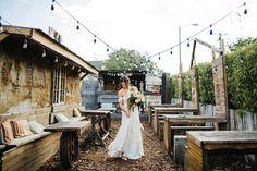 Romantic Downtown Lakeland Wedding on Kentucky Avenue | Featured on Green Wedding Shoes | Eclectic boho wedding | Orlando wedding photographer