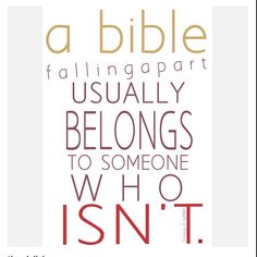 Bible quote about it falling apart