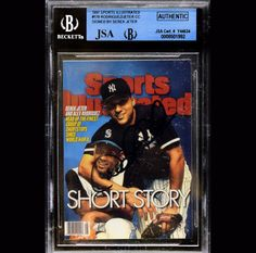 Derek Jeter 1997 Sports Illustrated JSA Beckett Signed Autographed 8501992 | eBay #derekjeter #jeter #1997 #sportsillustrated #beckett #signedcard #autograph