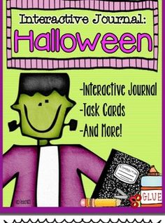 HALLOWEEN - Interactive Journal, Task Cards, and More