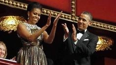 Obama salutes entertainers at Kennedy Center Honors
