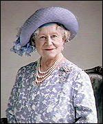 Queen Elizabeth the Queen Mother.