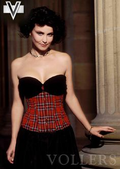 Corset Tartan Stile V1114 Vollers Corsage: http://www.korsett-corsage.net/product_info.php/products_id/918/language/en