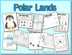 Polar Lands Pre-school pack
