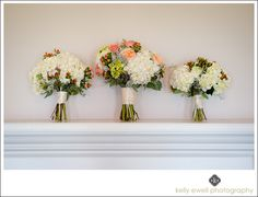 White and pink flower bouquet inspiration from a summer wedding at Morven Park in Leesburg, Virginia | Kelly Ewell Photography | Leesburg VA Wedding Photographer