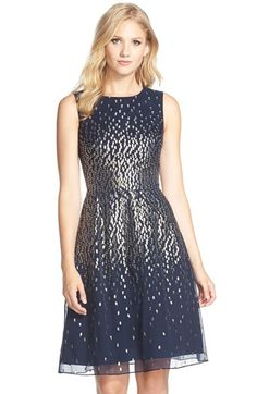 Great for pear shape - concentration of shiny pattern emphasises a small waist
