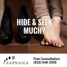 Go from SHY to FLY with ZapNails #NailFungus laser therapy, the most effective treatment available! (832) 648-2555 • http://zapnails.com