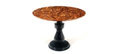 COLOMBOS | Pedestal Table, Wood Top Table by Boca do Lobo