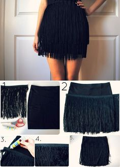 Flapper Fringe Skirt – DIY