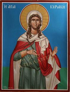 Αγια Κυριακη Orthodox Icons, Saints, Prayers, Greek, Princess Zelda, Fictional Characters, Art, Art Background, Kunst