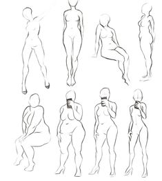 Physico-biological body The bodies contain bones that are resistant and … Reference Photos For Artists, Art Reference Poses, Body Drawing Tutorial, Body Reference Drawing, Poses References, Anatomy Art, Anatomy Drawing, Art Poses, Drawing Base