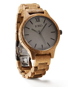 Frankie Series Watch in Koa & Ash  Minimalism has never equated to more…