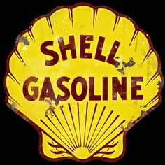 Shell Large Vintage Style Sign   Vintage Gas - Oil Signs Signs For ...