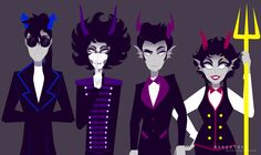 Classystuck, highblood dancestors i'm pinning this cause kurloz and I can't stop thinking about the black parade omfg
