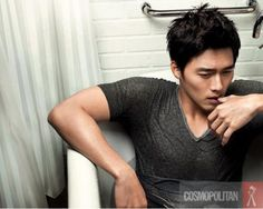"""#8  Hyun Bin only got sexier with age.  For his 31st birthday we're celebrating by sharing some of his most """"Bed-Licious"""" photos. ."""