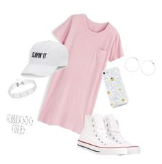 """"" by pyatt184 ❤ liked on Polyvore featuring J.Crew, Converse and SO"