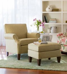 USA-Made Bedford Collection Upholstered Club Chair | Chairs