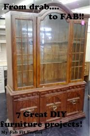 My Fab Fit Forties: Tackling a DIY China Cabinet - The Dream is Alive!!