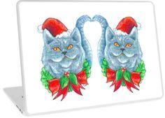 ' Laptop Skin by Jokertoons Canvas Prints, Art Prints, Christmas Cats, Laptop Skin, Chiffon Tops, Classic T Shirts, Clock, Blanket, Stuff To Buy
