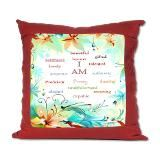 I am....... Suede Pillow  @theinkboxes