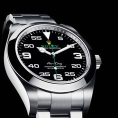 For those Rolex lovers who crave a return to the aviation watches of the and your time has come. This year Rolex unveils the new Air-King and it's a prince among watches. Breitling Watches, Rolex Watches For Men, Best Watches For Men, Luxury Watches For Men, Sport Watches, Rolex Air King 2016, Fancy Schmancy, New Rolex, Waterproof Watch