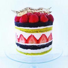 Fraisier cake never looked so good!
