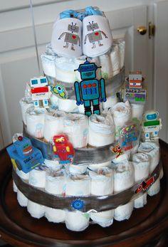 Best diaper cake I've seen