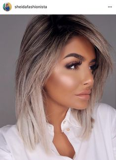 Ash Brown Hair, Shape Tape, Concealer, Foundation, Hair Cuts, Hair Beauty, Style Inspiration, Long Hair Styles, Instagram