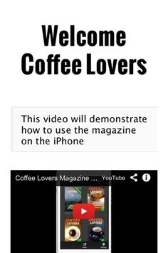 This is #coffee lovers magazine on the #iphone - cool, no? https://itunes.apple.com/us/app/coffee-lovers-mag/id583616848?mt=8