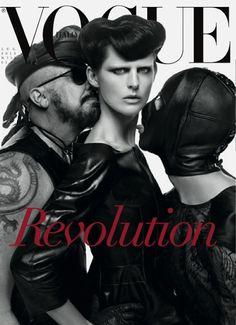 Vogue Itália Julho 2013 | Stella Tennant por Steven Meisel