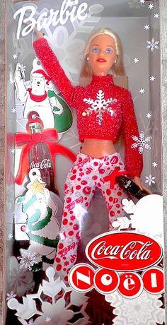 Coca-Cola NOEL Holiday Barbie - Canadian