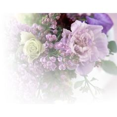 lilac bouquet fade ❤ liked on Polyvore featuring home, home decor, floral decor, flowers, tubes, backgrounds, fade and nature