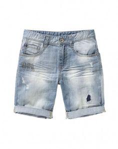 United Colors of Benetton - Web oficial Denim Jeans Men, Denim Shorts, Colors Of Benetton, Kids Shorts, Sport Pants, Boys T Shirts, Fashion Pants, Distressed Jeans, Urban Fashion