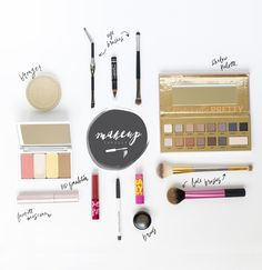 All the makeup you'd ever need to create 100's of looks! Best reference for a makeup kit!